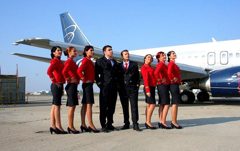Flugzeug Crew